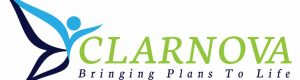 Clarnova Logo with headline Infusionsoft