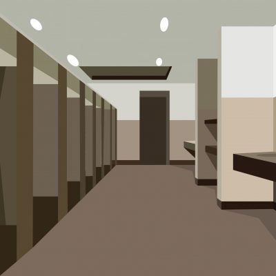 Poorly,Maintained,Public,Restroom,Illustration.,Vector,Illustration